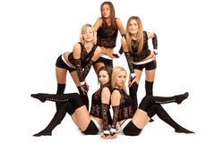 Dance group Stock Photos