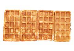 waffle - stock photo