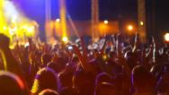Stock Video Footage of Crowd at the concert