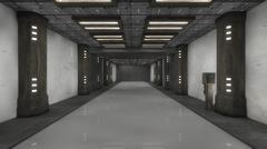 SCIFI Corridor Kuvituskuvat