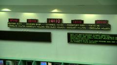 Stock Market#3.mxf Stock Footage