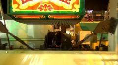 Giant wheel ride Stock Footage