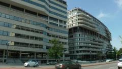 Watergate office building, Washington, DC Stock Footage