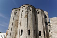 St donatus church on the old roman forum, zadar, dalmatia, croatia, europe Stock Photos