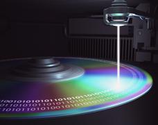Laser Disc Stock Illustration