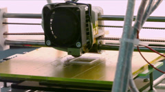 Stock Video Footage of 3D calibration cube