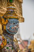 Sculpture at royal palace, bangkok city, religion, culture and tradition, sou Stock Photos