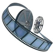 Film Reel Concept - stock illustration