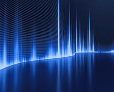 Wave Sound Stock Illustration