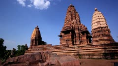 Zoom out shot of a temple - stock footage
