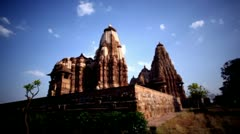 Fade in shot of a temple - stock footage