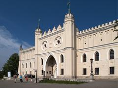 Neo-gothic royal castle, lublin, poland, europe Stock Photos