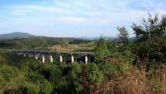 A1 Highway in Lika, Croatia 5 Stock Footage