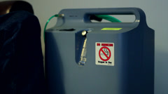 oxygen machine.mp4 - stock footage