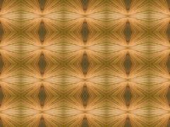 Kaleidoscope symmetrical abstract wooden background. Stock Photos
