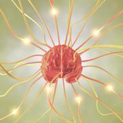Brain Neuron Concept - stock illustration