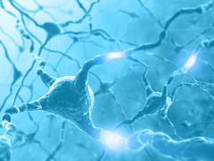 Neuron Energy Stock Illustration