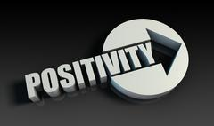 Stock Illustration of positivity