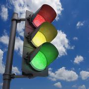 Traffic Light Stock Illustration