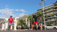 Stock Video Footage of Nice in south France (1)