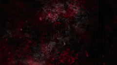 Horror Grunge Looping Animation in Red Black and Gray Stock Footage