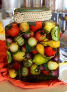 Jar of pickles Stock Photos