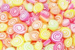 colorful candy - stock illustration