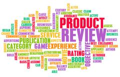 Product review Stock Illustration