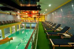aquatic center - stock photo