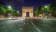 Stock Video Footage of Arc de Triomphe