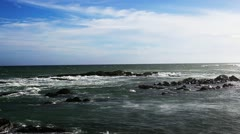 Shot of waves in the sea Stock Footage