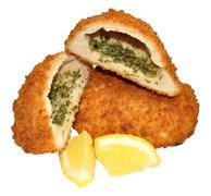 Chicken Kiev - stock photo