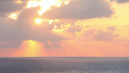 Stock Video Footage of Sky, sea, clouds.