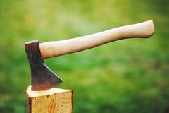 axe - stock photo