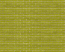 The walls are made of bricks of green Stock Illustration