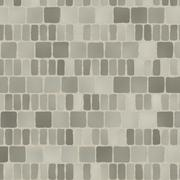 grey tiles give a harmonic pattern at the ground - stock illustration