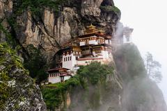 Taktsang Palphug monastery, Bhutan Stock Photos
