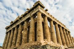 Parthenon at the Acropolis of Athens, Greece - stock photo