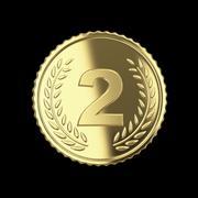 golden medal. - stock illustration