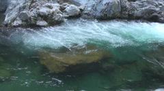 Waterfall Lake - Seamless Loop Stock Footage
