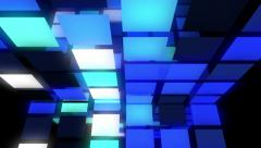 Futuristic motion abstract background Stock Footage