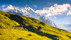 Mountain landscape Stock Footage