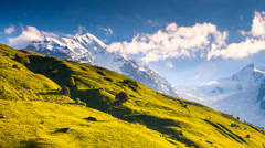 mountain landscape - stock footage