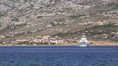 Adriatic Ferry 2 Stock Footage