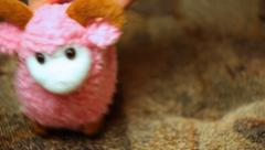 Hand Played Toy CloseUp Stock Footage