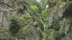 Wahclella Falls-2, Oregon Stock Footage