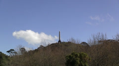 One Tree Hill Obelisk Stock Footage