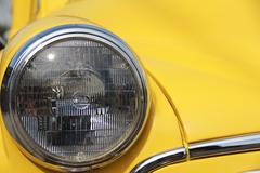Morris Headlight - stock photo
