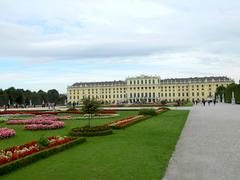 vienna schoenbrunn - stock photo