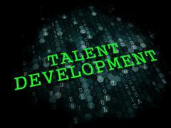 Talent Development. Educational Concept. Stock Illustration